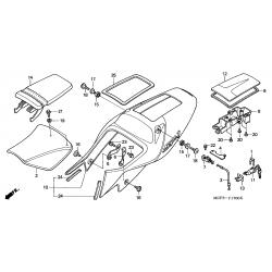 zadel Honda VTR1000SP-2 77100-MCF-000
